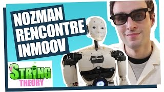 Dr Nozman meets InMoov the first robot to be 3D printed  - Nozbot #02 - String Theory