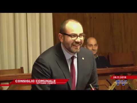 CONSIGLIO COMUNALE VITTORIO VENETO - Seduta del  26.11.2018