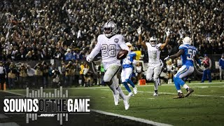 Sounds Of The Game: Week 10 Vs. Chargers   Raiders