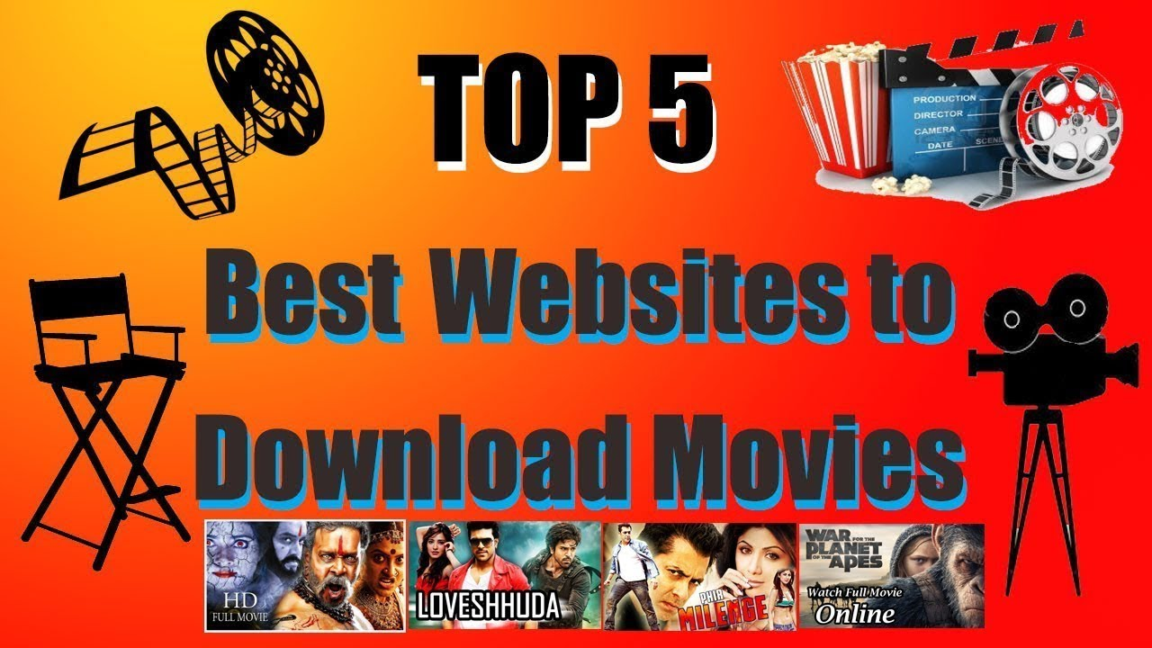 top 5 movie streaming sites 2018