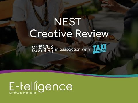 E-telligence August 2019 Creative Review with Taxi for Email: NEST