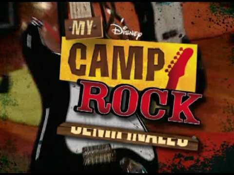 """Promoción de las semifinales de """"My Camp Rock""""   Disney Channel Spain"""
