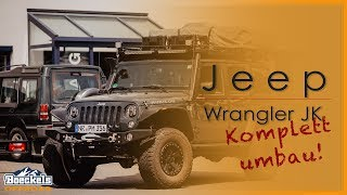 Jeep Wrangler JKU | Komplettumbau | BoeckelsOffroad