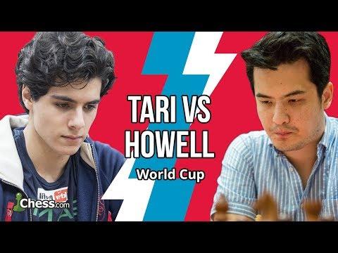 Hammer får ikke det tekniske i orden før Howell tilbyr Tari remis