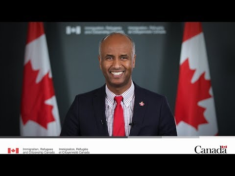 Citizenship Week 2018 message from Minister Hussen