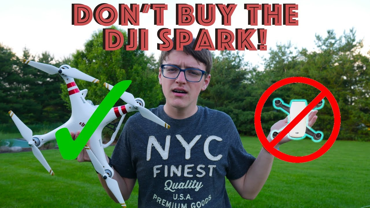 fbac2211446 Buying The New DJI Spark? WATCH THIS VIDEO BEFORE PURCHASING!! - YouTube