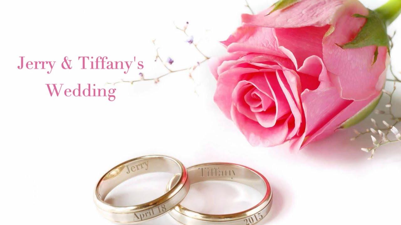 Jerry & Tiffany\'s Wedding Sample - YouTube