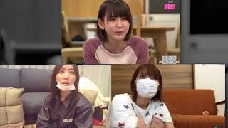 Matsui Jurina and Miyawaki sakura (HKT48 / Produce48) react to akb4...