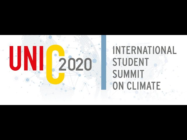International Student Summit on Climate UniC2020 - Call for Applications