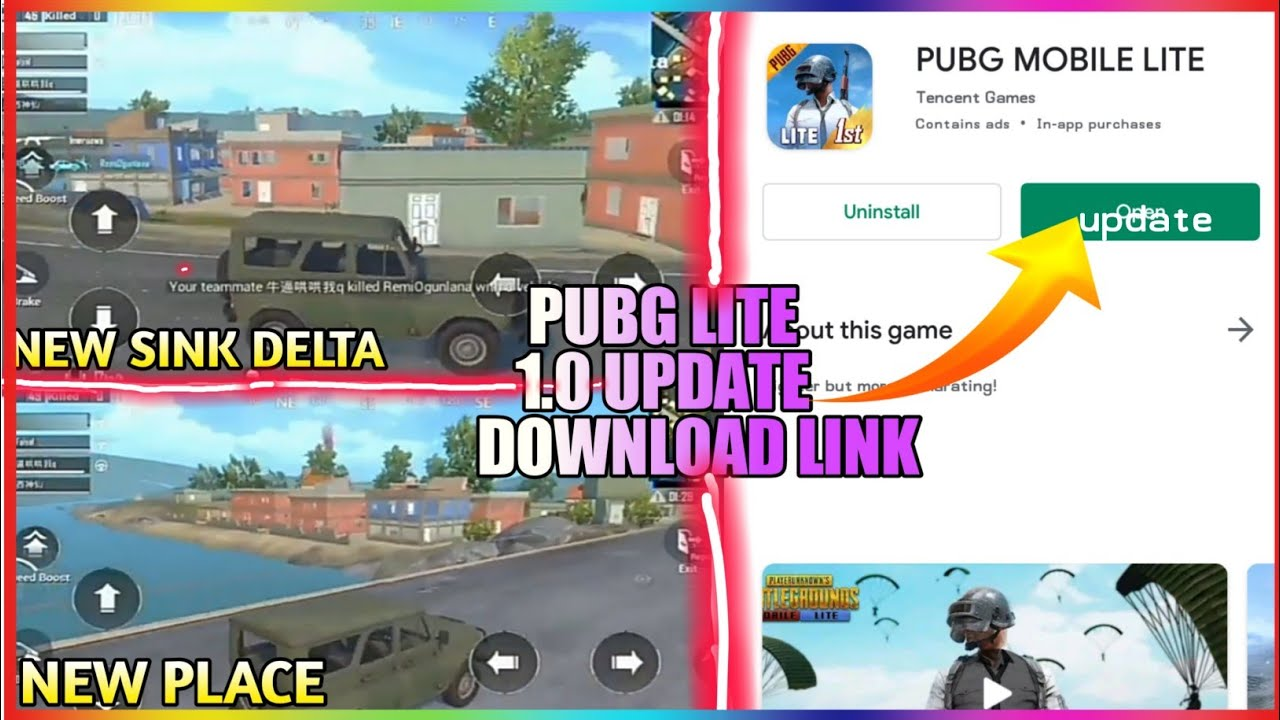 Download PUBGM LITE 1.0 UPDATE HERE || DOWNLAOD NOW || NEW MAP || NEW PLACE ....|| thanks for 700 subscriber