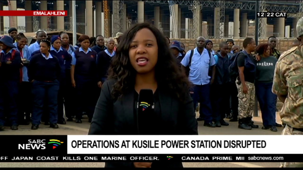 Striking security officers lock out Kusile Power Station