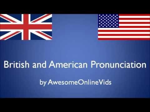 BRITISH vs AMERICAN ENGLISH PRONUNCIATION COMPARISON (PART 1) [HD]