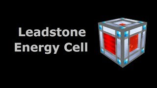 Leadstone Energy Cell (Tekkit/Feed The Beast) - Minecraft In Minutes