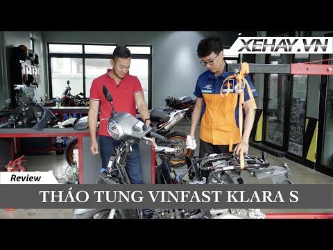 Tháo tung VinFast KlaraS cạnh tranh với xe tay ga gắn máy