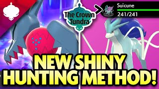 NEW SHINY HUNTING METHOD in the CROWN TUNDRA! Shiny Locks, New Method and More!