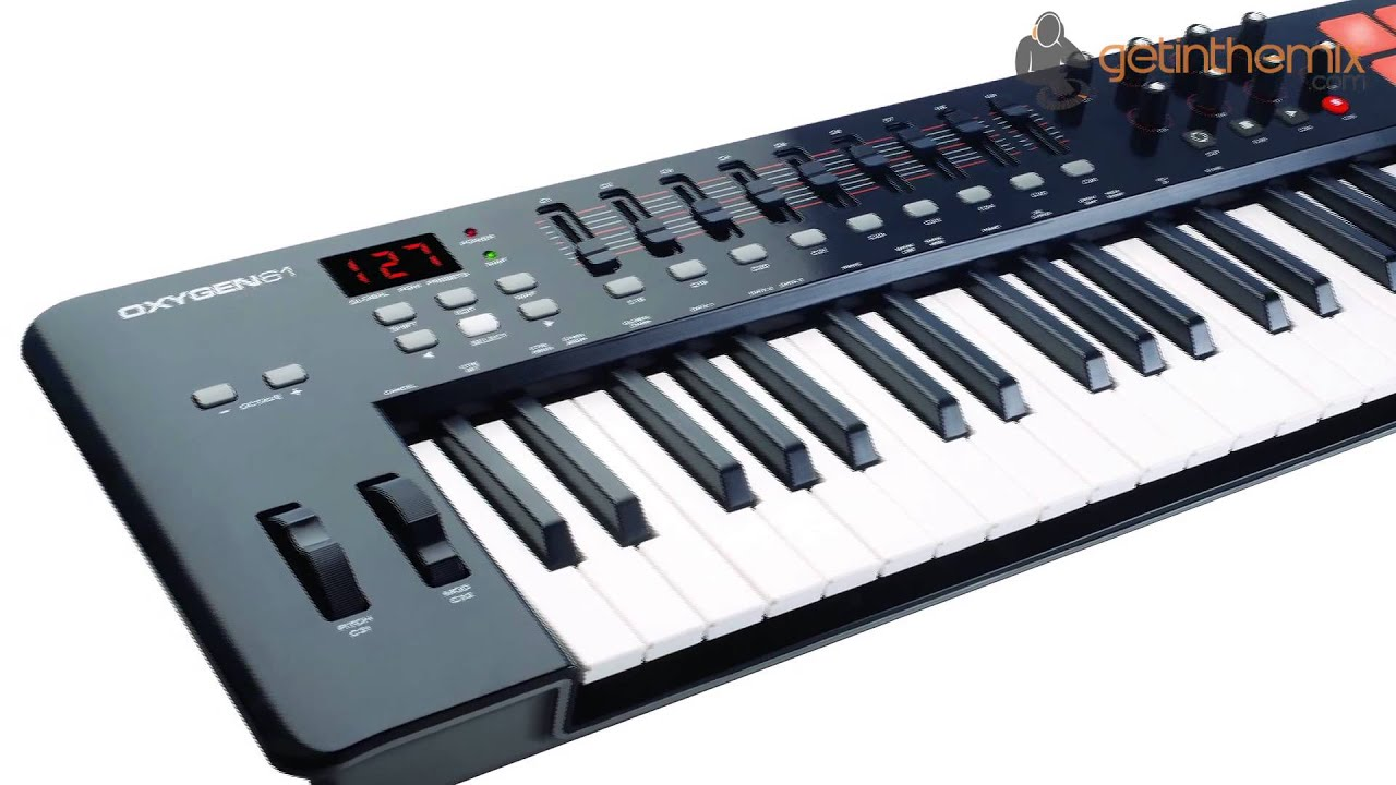 m audio oxygen 61 mkii midi and usb controller youtube. Black Bedroom Furniture Sets. Home Design Ideas