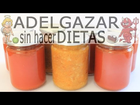 CÓMO HACER CONSERVAS DE FRUTAS Y VERDURAS # ADELGAZAR SIN HACER DIETAS