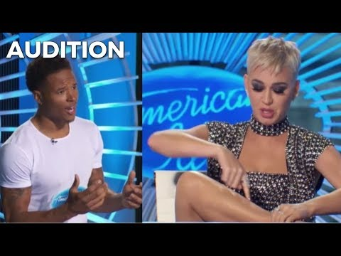 LEAK: NFL's Marvin Jones AUDITION For American Idol Gives Katy Perry Leg Goosebumps! | American Idol
