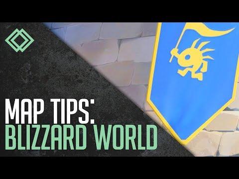 Blizzard World Map Tips | Overwatch
