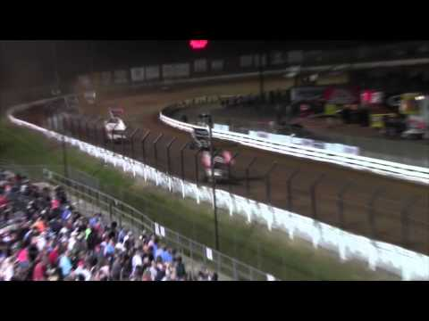 Williams Grove Speedway World of Outlaws Highlights 7-24-15