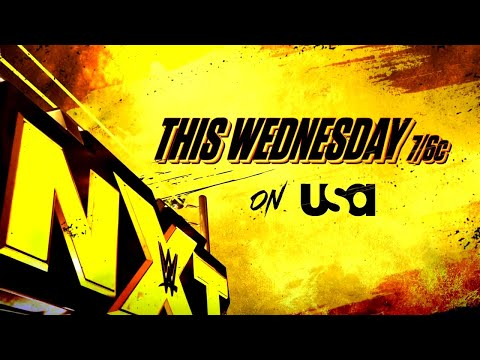 Watch NXT this Wednesday on USA Network at 7/6 C