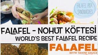 Falafel Tarifi   Nohut Köftesi   Falafel Nasıl Yapılır   Vegan   World's Best Recipe Falafel الفلافل
