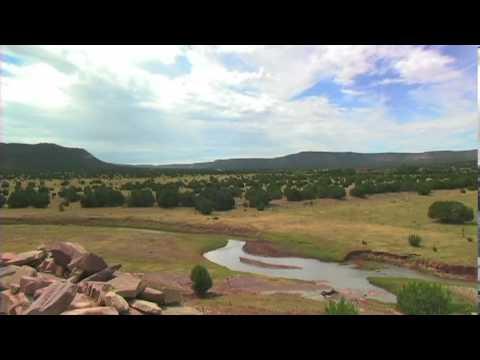 La Liendre Ghost town  New Mexico 12 hour time-lapse
