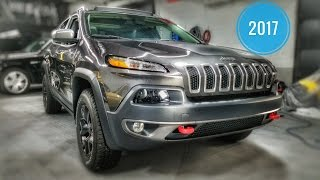 2017 Jeep Cherokee Trail Hawk 4x4- MSRP $39,005.00 In Depth Review & Tutorial