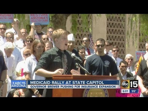 Medicaid rally at State Capitol