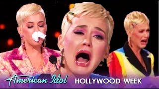 American Idol's CRAZIEST Hollywood Week Is The Katy Perry Show! | American Idol 2019 thumbnail