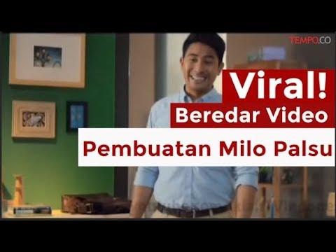 Viral, Beredar Video Adanya Pembuatan Milo Palsu Mp3
