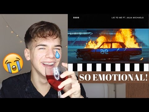 5 Seconds Of Summer - Lie To Me Ft. Julia Michaels (REACTION!)