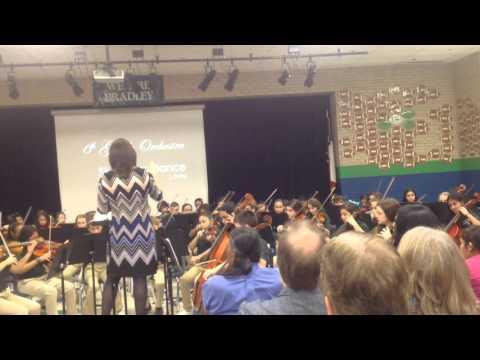Skeleton's Dance-Bradley Middle School NEISD 6th grade Orchestra Fall Concert