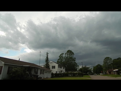 Tornado Warning!  May 11, 2017 - Cushing, Oklahoma
