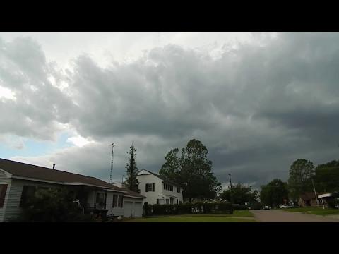 Tornado Warning!  May 11, 2017 - Cushing, Oklahoma