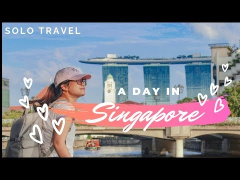 One Day in SINGAPORE | SOLO Travels in Asia