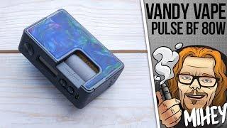 Vandy Vape Pulse BF 80W Squonk Box Mod. Новий пульс, плата.
