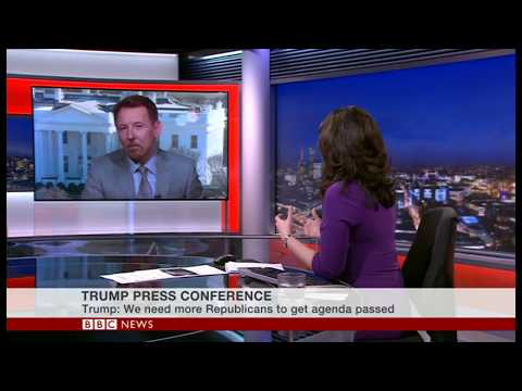 Trump Fire and Fury - BBC World News - Asia/Aust Bkfast US Lunch.