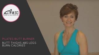Pilates Butt Burner Full 30 minute workout - eFit30