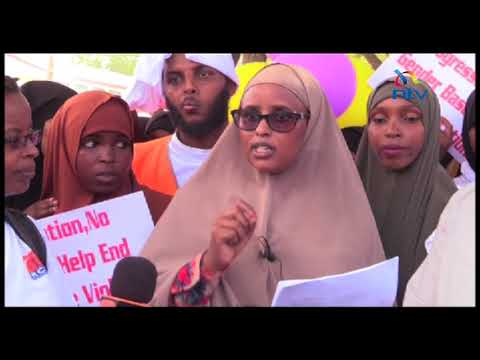 Garissa lobby group petitions Garissa County Assembly on sexual and gender based violence