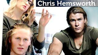 chris hemsworth hairstyle tutorial   men s long hair   slikhaar tv inspiration channel