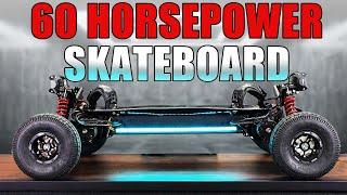 60HP SKATEBOARD is way too POWERFUL!