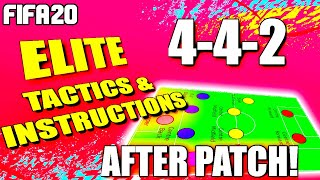 FIFA 20: BEST FORMATIONS AFTER PATCH! 442 CUSTOM TACTICS & INSTRUCTIONS: PERFECT FOR FUT CHAMPS