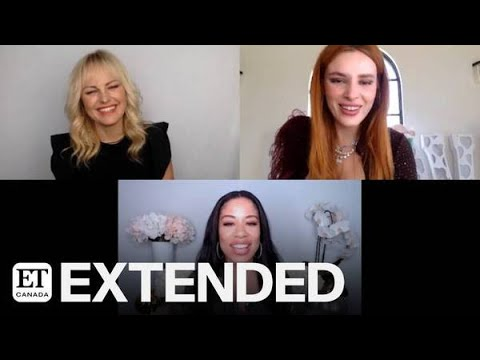 Malin Akerman, Bella Thorne On Going Toe-To-Toe In 'Chick Fight' | EXTENDED