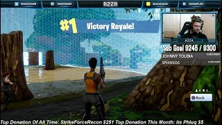 My First And Only Win So Far On The Free Game FORTNITE Battle Royal!!
