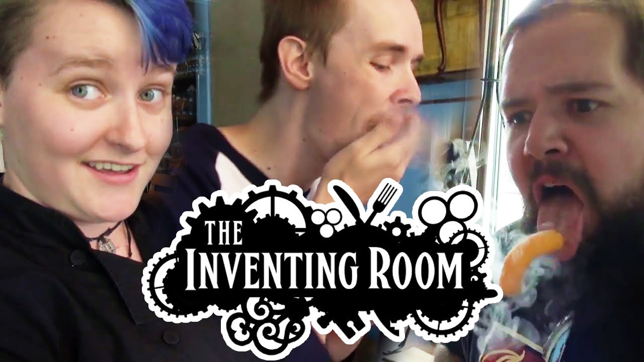 MAGIC FOOD at The Inventing Room - YouTube