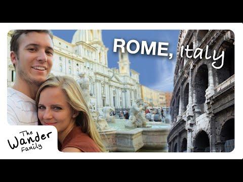 """ROME: """"Roamin' the Colosseum""""   Travel Vlog Ep. 04"""