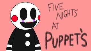 Minecraft Fnaf: Five Nights At Puppets (Minecraft Roleplay)