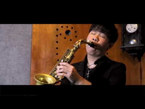 Love Story - Michael Pikanto Saxophone Cover (OST. The Legend Of The Blue Sea)
