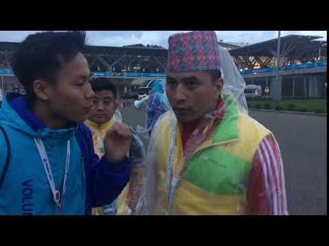 Гости из Непала передают Тюмени привет